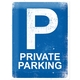 Peltikyltti 30x40 Private parking