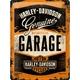 Peltikyltti 30x40 Harley-Davidson Garage