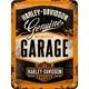 Peltikyltti 15x20 Harley-Davidson Garage