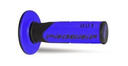 Kahvakumi PROGRIP 801, musta/sininen, 22/25mm, pari