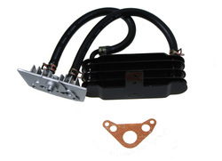 OIL COOLING SET (SILVER) 50-125 CC