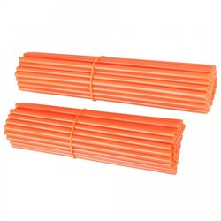 Spoke wraps, pinnasuojat oranssi