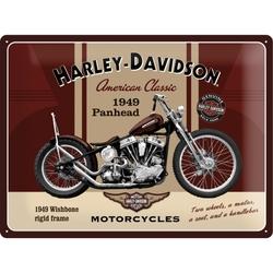 Peltikyltti 30x40 Harley-Davidson Panhead