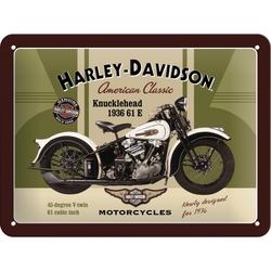 Peltikyltti 15x20 Harley-Davidson Knucklehead