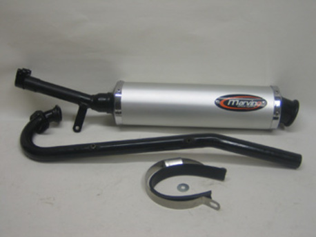 EXHAUST SYSTEM KYMCO KXR 250 MARVING