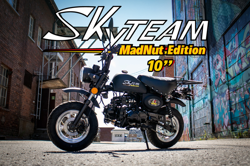 "Skyteam MadNut Manki 10"" renkailla"