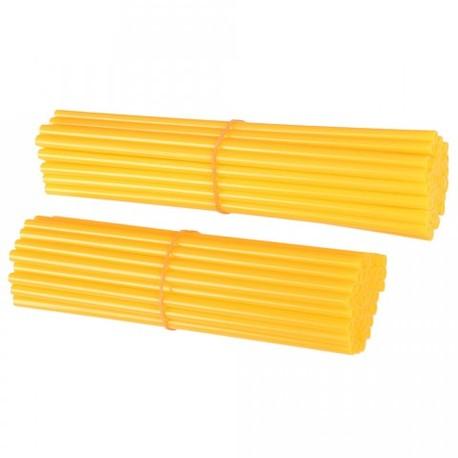 Spoke wraps, pinnasuojat keltainen