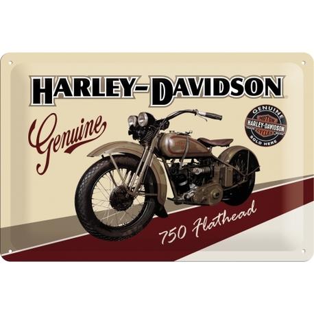 Peltikyltti 20x30 Harley-Davidson 750 Flathead
