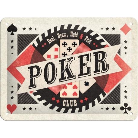 Peltikyltti 15x20 Poker
