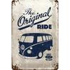 Peltikyltti 20x30 VW Bulli The Original Ride
