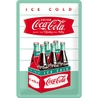 Peltikyltti 20x30 Coca-Cola Ice cold