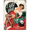Peltikyltti 30x40 The Eight Ball