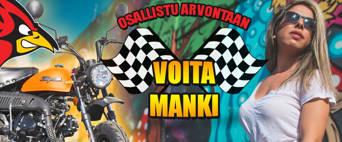 Osallistu ja voita Manki!